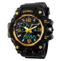 Big Dial Digital Watch  Men Military Army Watch Water Resistant Sports Watches