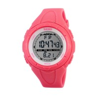 Women's Sports Watches Digital Chronograph Resin Strap Watch Led Health  Waterproof Alarm Day Date Function Friendly Digital Watch