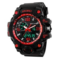 SKM Men's waterproof electronic   watch Digital  outdoor sports watches