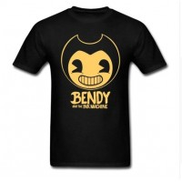 Funny T-Shirt Men Bendy and The Ink Machine Tshirt Cheap Price T 80s 2017 tshirt Teenager Plus Size