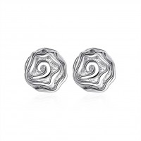 Rose earrings ear hook E003