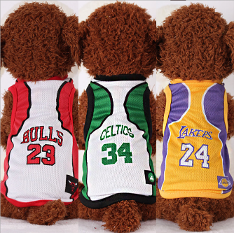 Cheap pet dog clothes With Free Shipping Dog Vest NBA Basketball and Football Uniforms Dog Jersey SportswearCheap pet dog clothes With Free Shipping Dog Vest NBA Basketball and Football Uniforms Dog Jersey Sportswear<br>