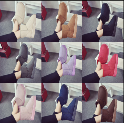 High Quality Female Footwear Ankle Boots Ladies Soft Comfortable Cotton Snow Boots Women Winter Shoes