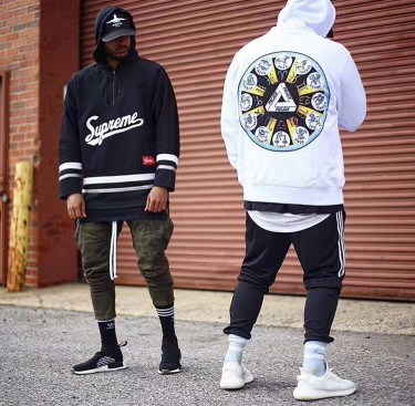 Celebrity hoodies with men and women loose Europe and the United States jacket palace twelve Constellation couple trend hooded sweater