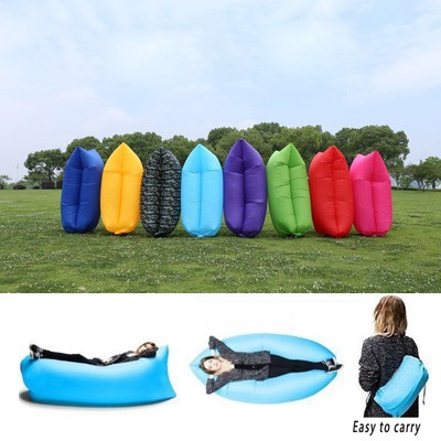Fast Inflatable Lazy Air Bag Hangout Sleep Hiking Camping Ultralight Beach  Sofa Lounge Air Inflatable Sofa
