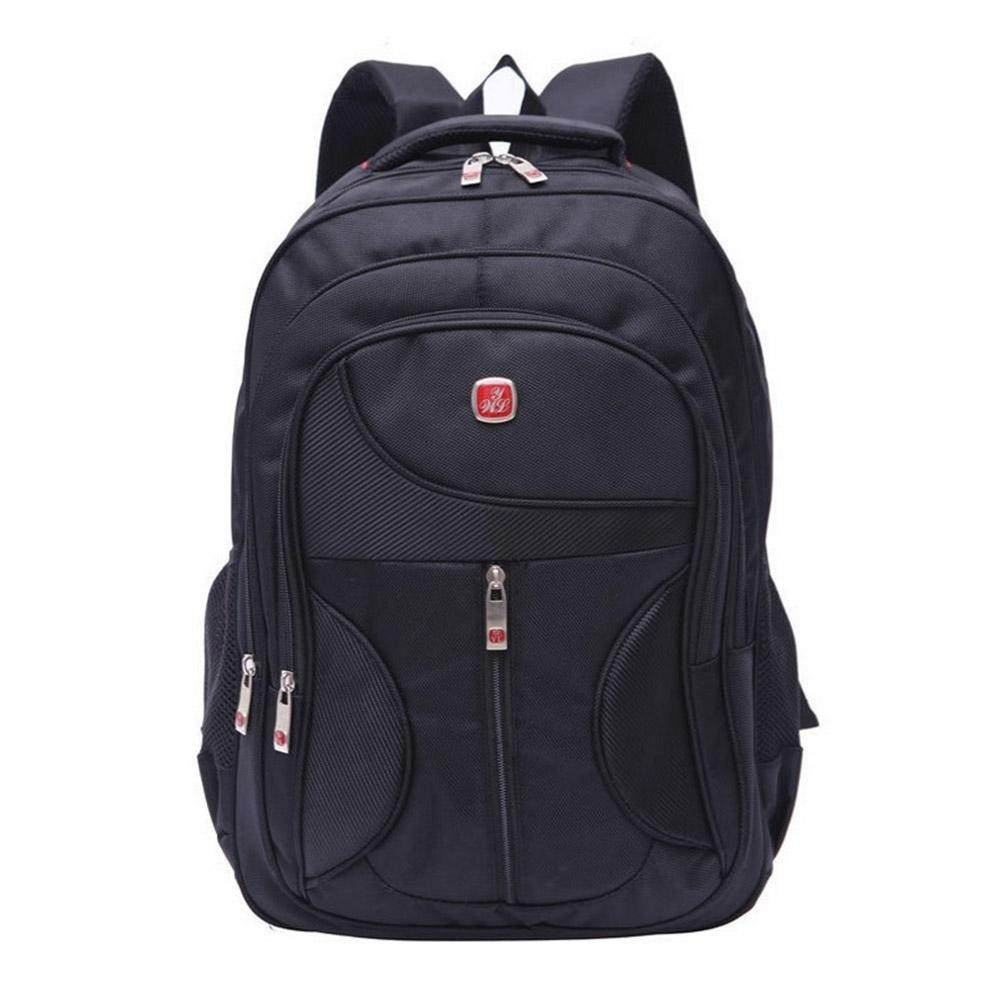 Weiyalu Outdoor Men Women Black Laptop Backpack Sports