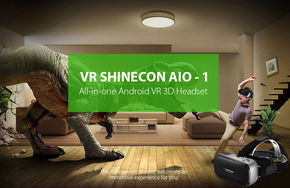 2384522f782 Package Contents  1 x VR SHINECON AIO - 1 All-in-one Android VR Headset
