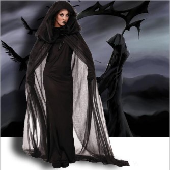Halloween cosplay costume witch costume