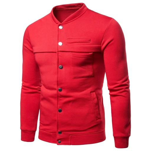 Men's Colored Casual Jacket