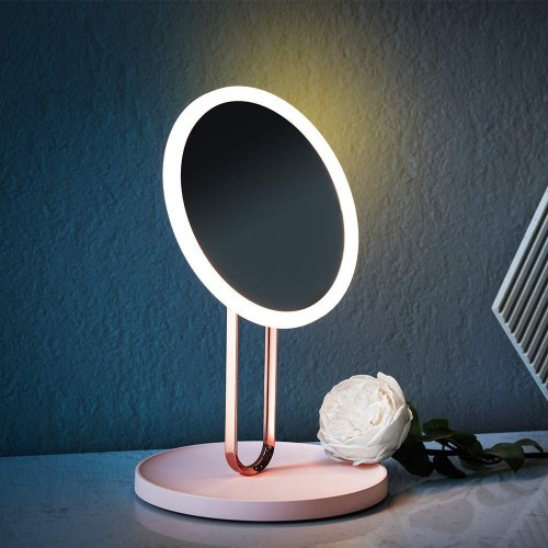 USB Rechargeable LED Adjustable Makeup Mirror