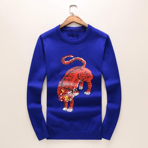 Factory direct sales in Europe and the United States autumn and winter sweater Men's round-collar cashmere sweater